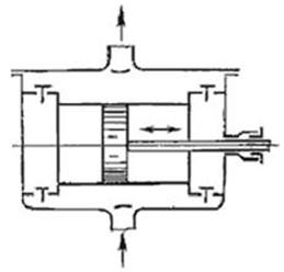 Схема двухплунжерного насоса